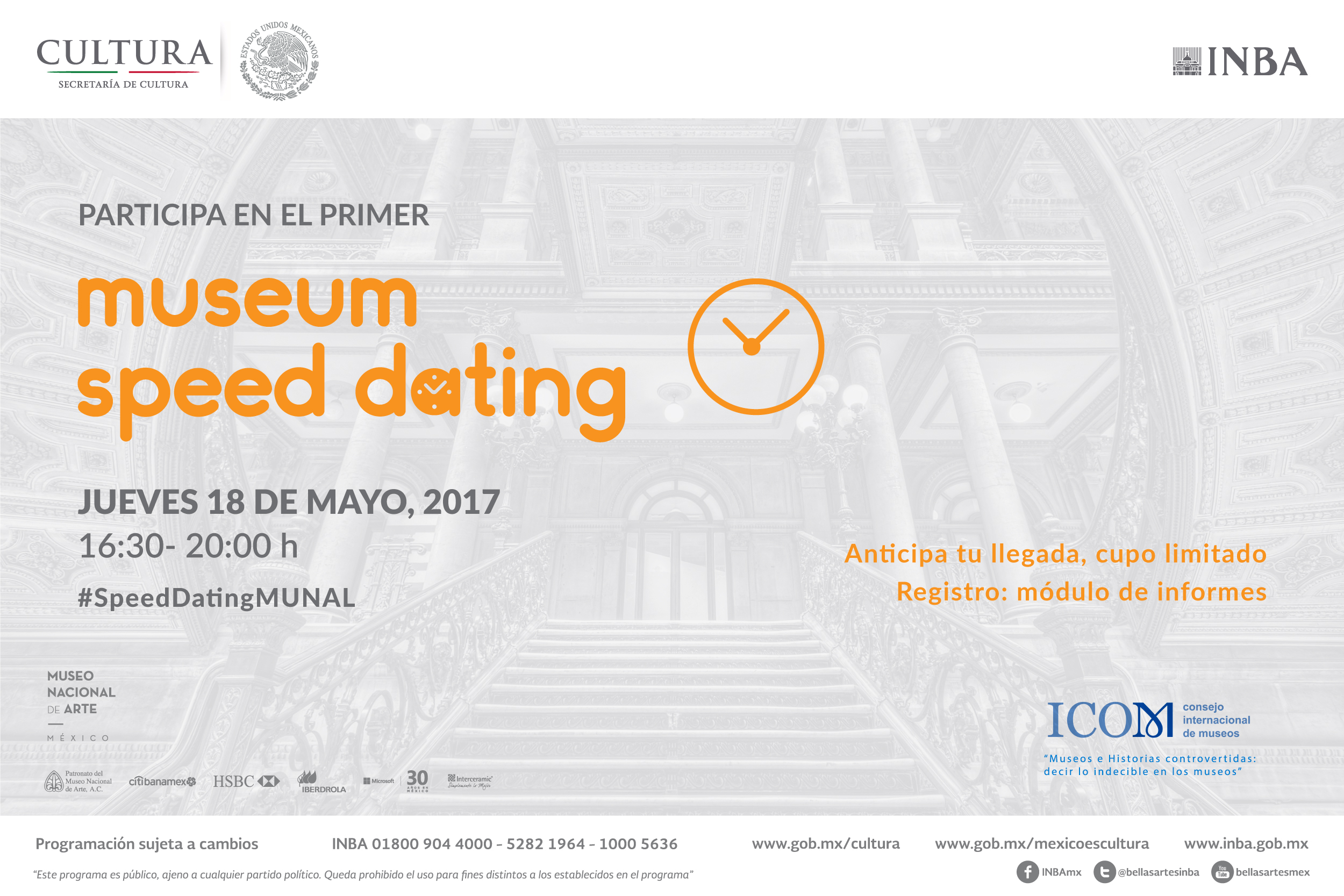 Speed dating artes