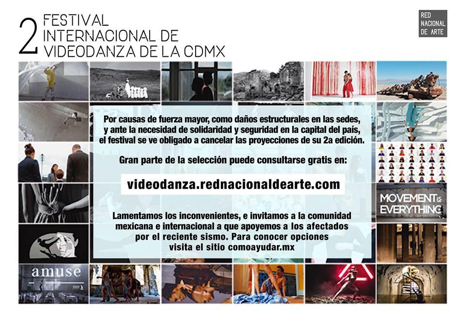 Festival Videodanza México Sismo
